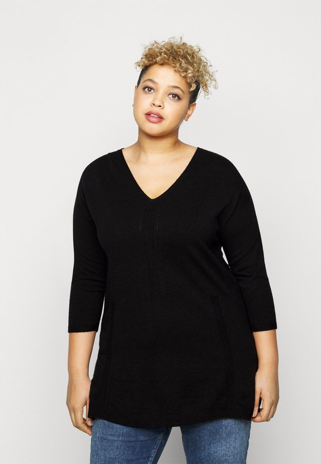 ALIDA - Jumper - black