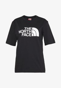 The North Face - EASY TEE - T-shirts med print - black - 4