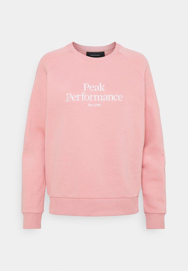ORIGINAL CREW - Sweater - warm blush