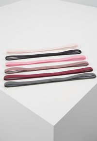 Nike Performance - SPORT HEADBANDS 6 PACK - Andre accessories - barely rose/black/magic flamingo - 4