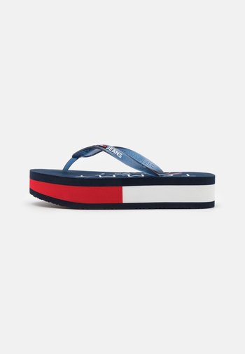 THONG MID BEACH - T-bar sandals - twilight navy