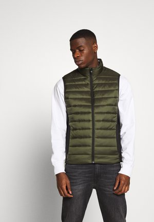 LIGHT WEIGHT SIDE LOGO VEST - Kamizelka - green