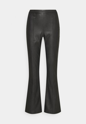 PENNY TROUSERS - Kalhoty - black
