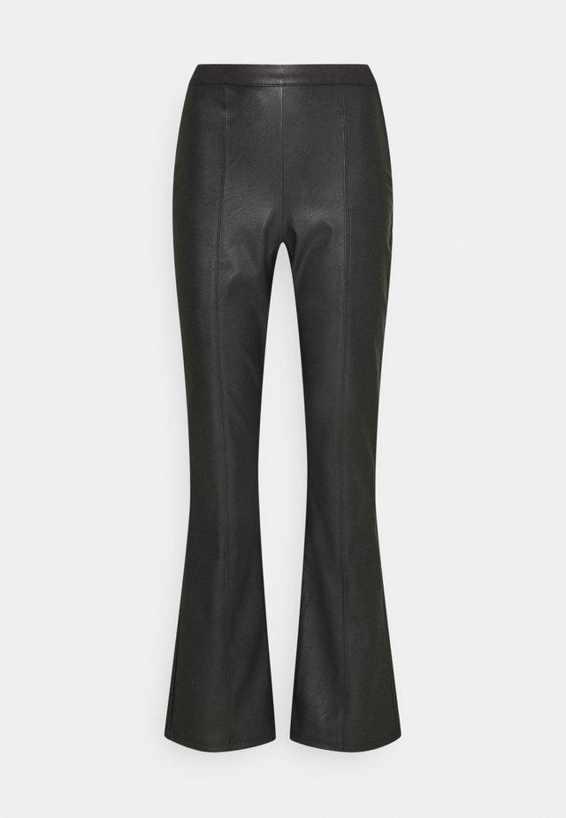 PENNY TROUSERS - Pantaloni - black