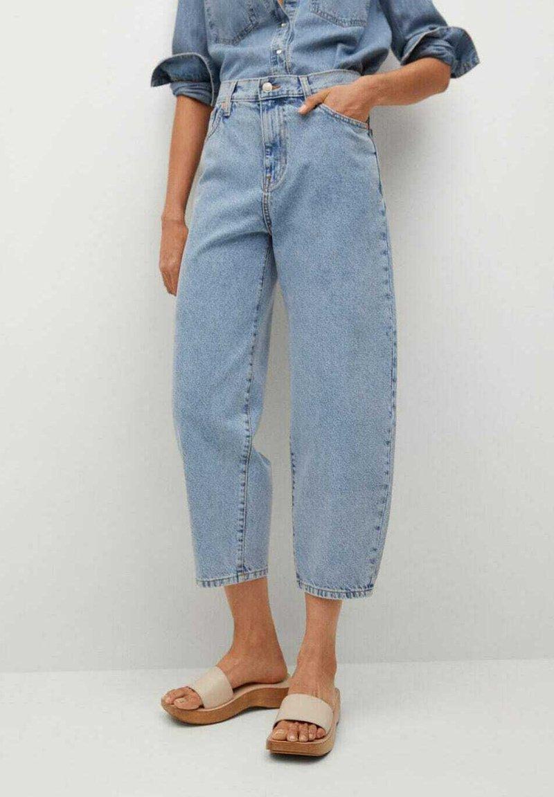 Mango - ANTONELA - Relaxed fit jeans - medium blue