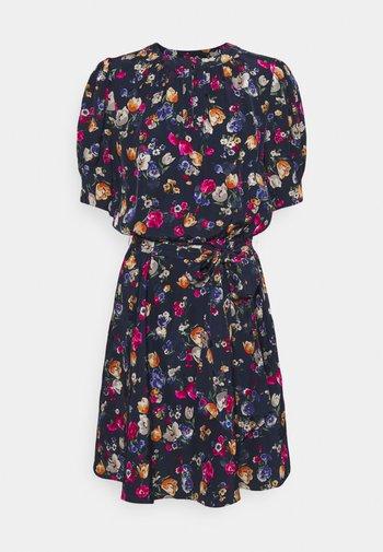 TONAL DRESS - Denní šaty - french navy multi