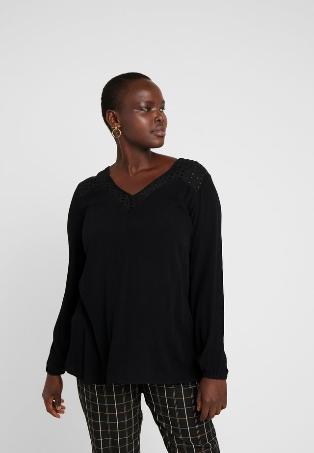 JRALISA BLOUSE - Blouse - black