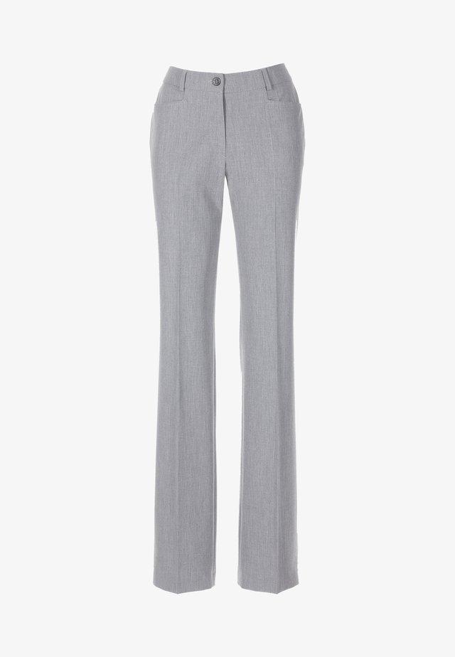 Trousers - grau/melange