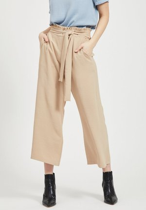 VIRASHA  - Trousers - beige