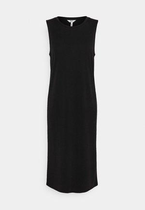 OBJANNIE DRESS - Jerseyjurk - black
