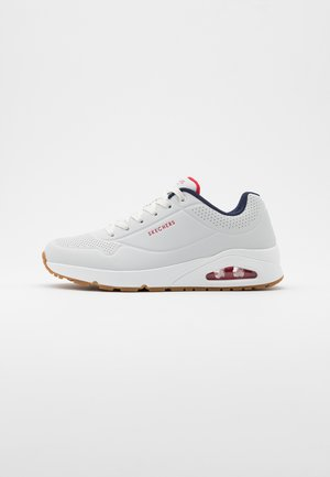 UNO - Sneaker low - white/navy/red