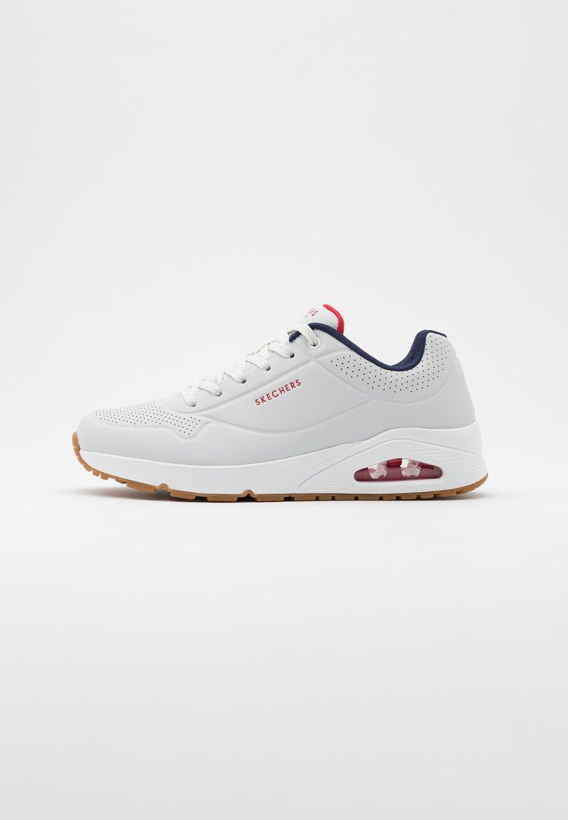 Skechers Sport - UNO - Sneaker low - white/navy/red