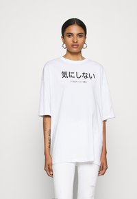Even&Odd - T-shirt imprimé - white - 0