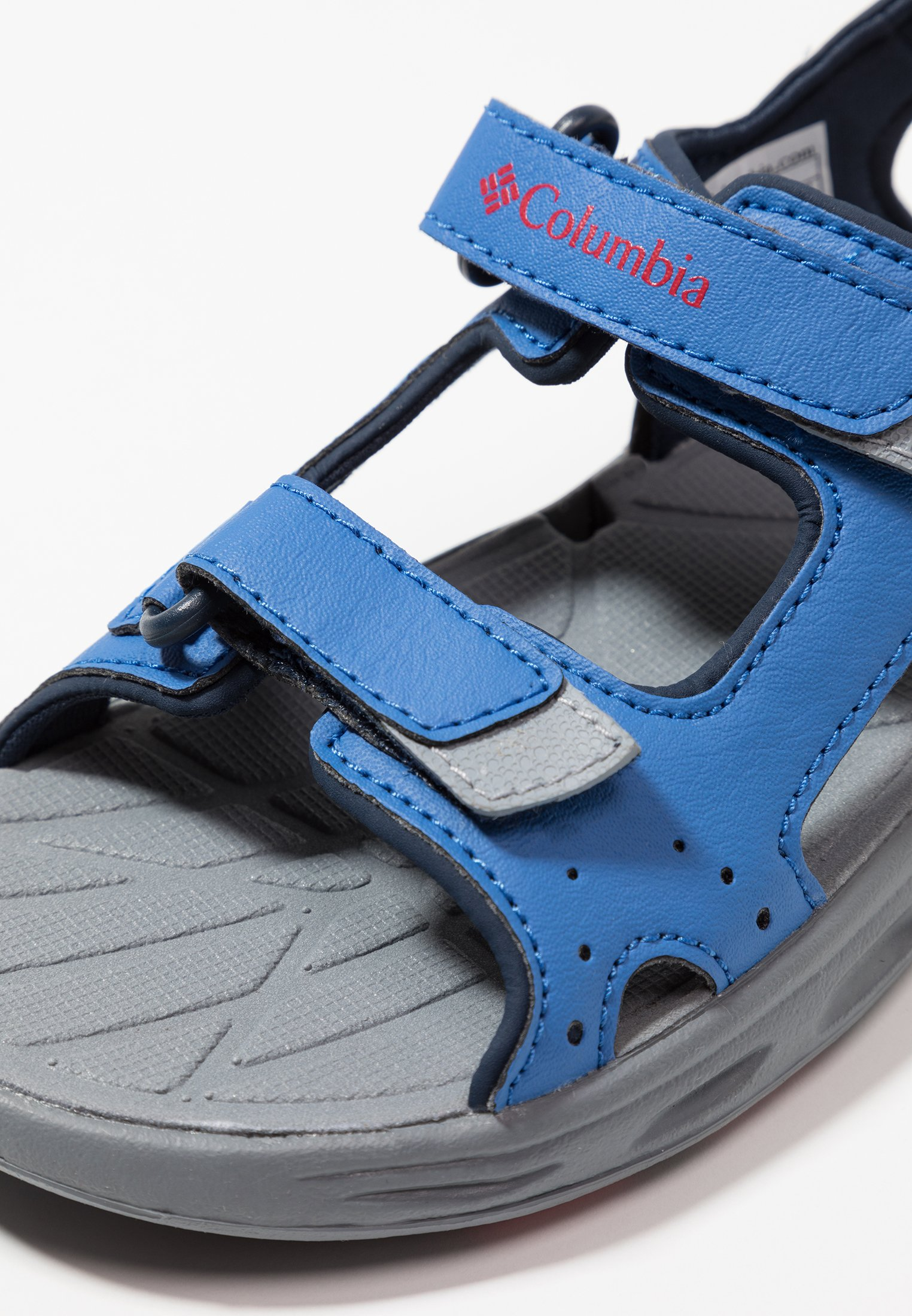 Groothandel Leuk Columbia YOUTH TECHSUN VENT - Outdoorsandalen - stormy blue/mountain red -  Xmt4o