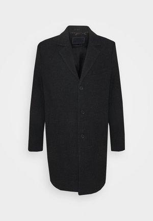 IAN - Zimní kabát - black melange