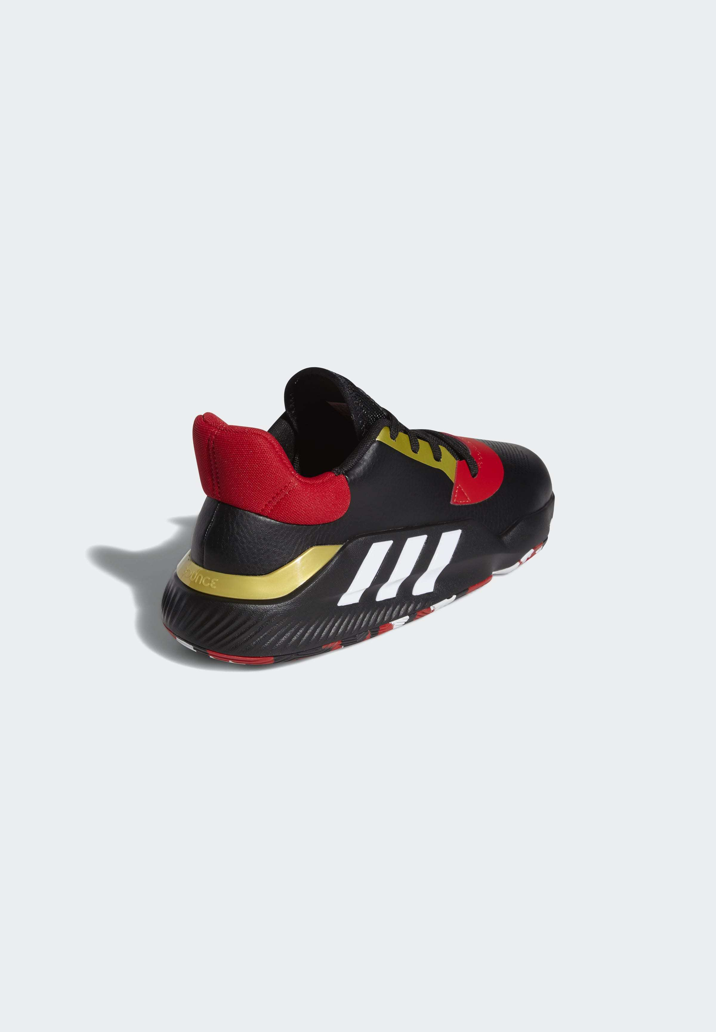 adidas Performance PRO BOUNCE 2019 LOW SHOES - Basketballschuh - black/schwarz - Herrenschuhe QrbYb