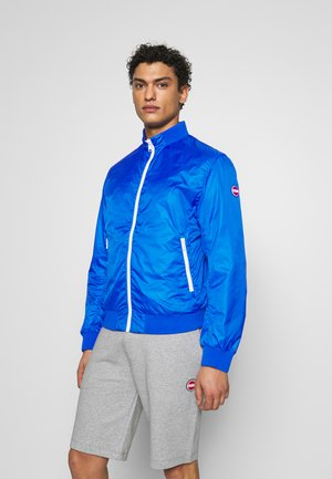 MENS REVERSIBLE - Summer jacket - JUPITER/NAVY BLUE