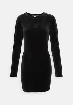 ICONIC FITTED DRESS - Day dress - black