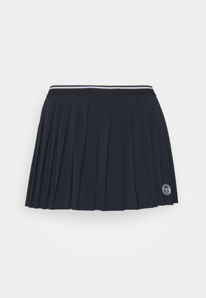 SKORT WOMAN - Sports skirt - night sky/blanc de blanc