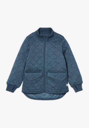 THERMO DINES - Fleece jacket - indigo melange