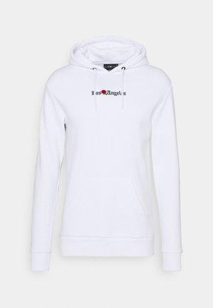LA HOOD - Luvtröja - white