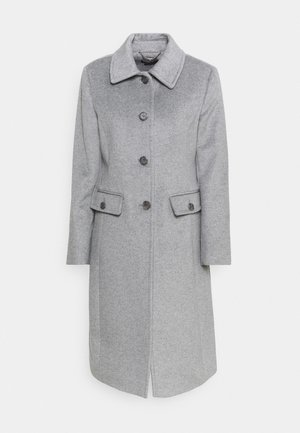 COAT FLAP  - Classic coat - light heather grey