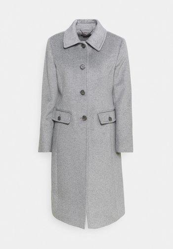 COAT FLAP  - Classic coat - light heather grey