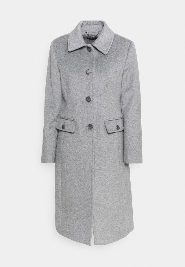 COAT FLAP  - Zimní kabát - light heather grey