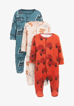 3 PACK TRANSPORT SLEEPSUITS - Sleep suit - blue