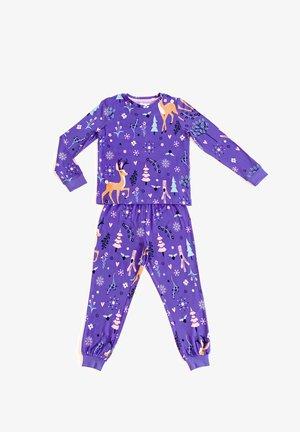 Nattøj sæt - purple