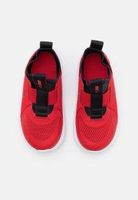 Nike Performance - FLEX PLUS UNISEX - Neutral running shoes - university red/black/white - 3