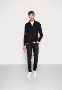 Pier One - Jeans Skinny Fit - black denim - 1