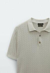 Massimo Dutti - Polo shirt - light grey - 6