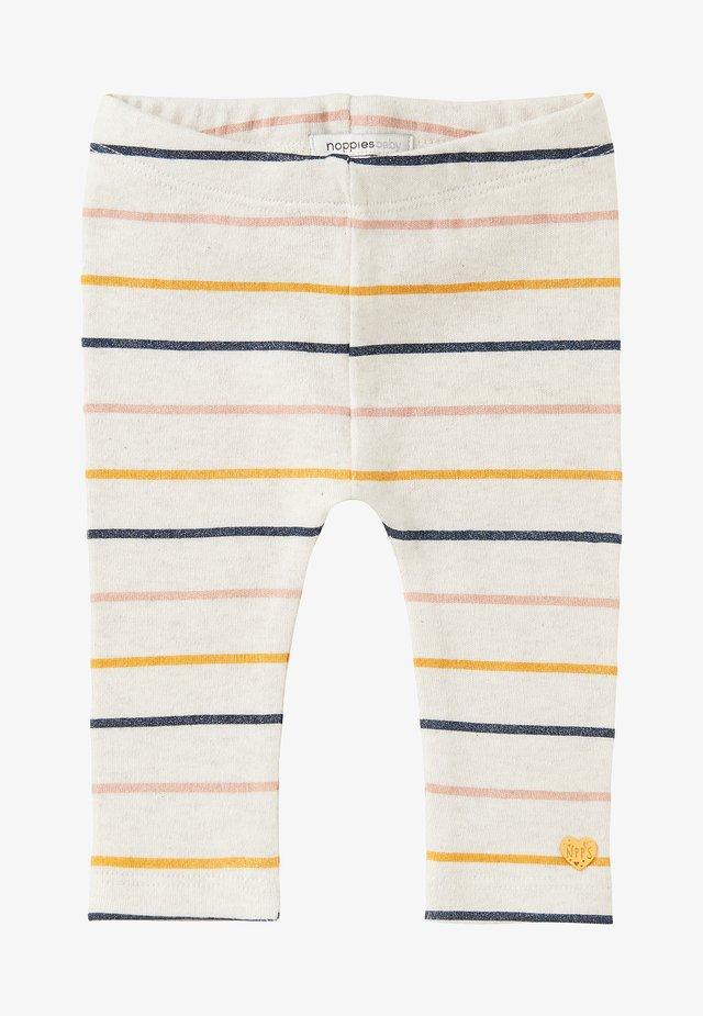 MAGNOLIA - Leggings - Trousers - ras oatmeal
