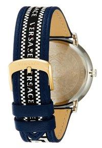 Versace Watches - CIRCLE GRECA EDITION - Hodinky - blue - 2