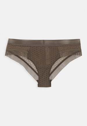 MANHATTAN SHORTY - Pants - vert ecume