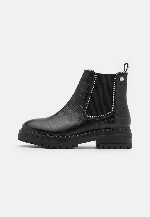 JOME CROCCO - Cowboy/biker ankle boot - black