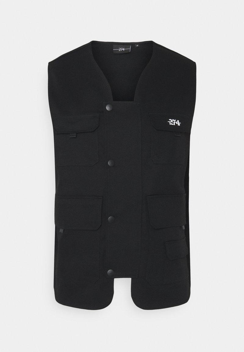 274 - UTILITY VEST - Waistcoat - black