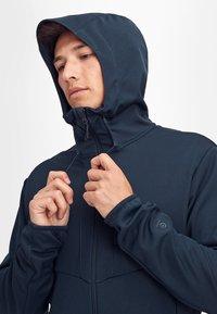 Mammut - Soft shell jacket - marine - 3