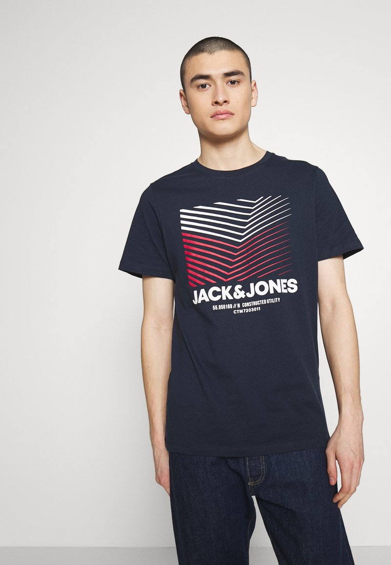 Jack & Jones - Camiseta estampada - sky captain
