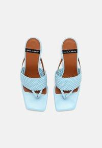ÁNGEL ALARCÓN - VEGAN - Pantofle na podpatku - cielo - 4