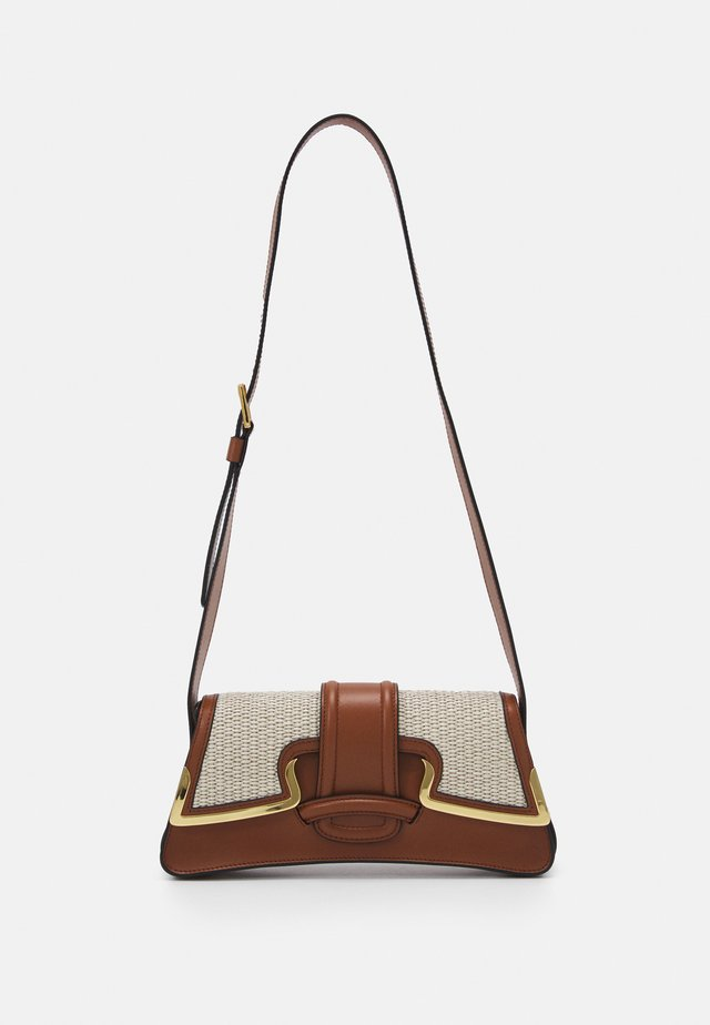 SHOULDER BAG - Handtas - beige
