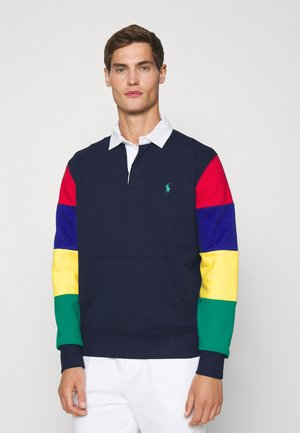 THE RL FLEECE RUGBY - Polo shirt - newport navy