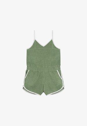 Jumpsuit - dusty pistache green