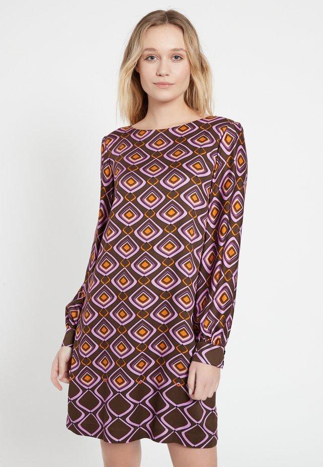 Korte jurk - lila