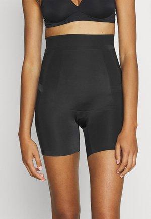 POWER PLAYERS HIGH WAIST GIRLSHORT FIRM CONTROL - Shapewear - black