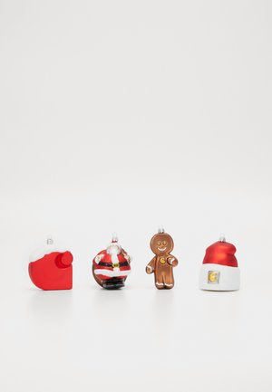 CHRISTMAS ORNAMENTS 4 PACK - Pozostałe - multicolor