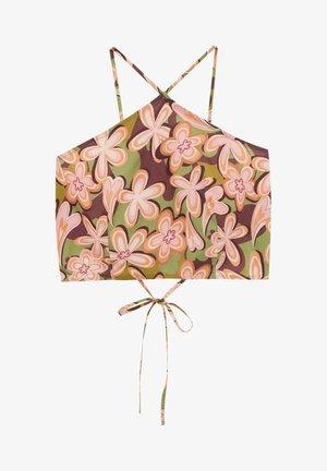 Top - mottled light brown