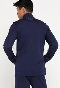 Under Armour - CHALLENGER KNIT WARM-UP - Tracksuit - midnight navy/graphite - 3