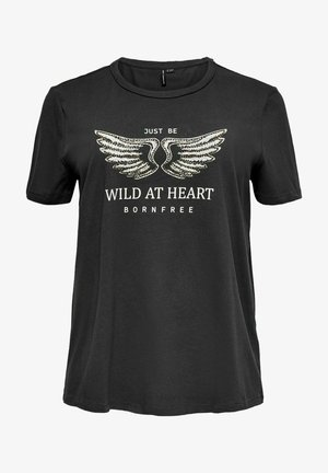 CARDESERT LIFE TEE - Print T-shirt - black